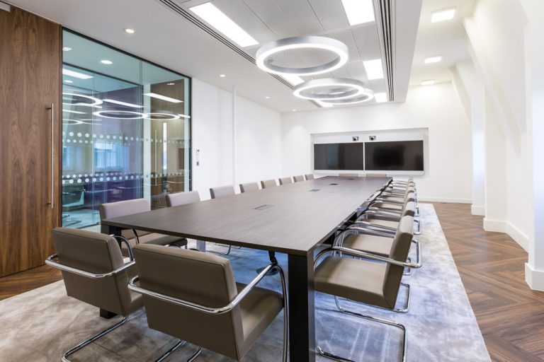 Interior office shoot for OES (London) Ltd and Knoll International – Interior Photography