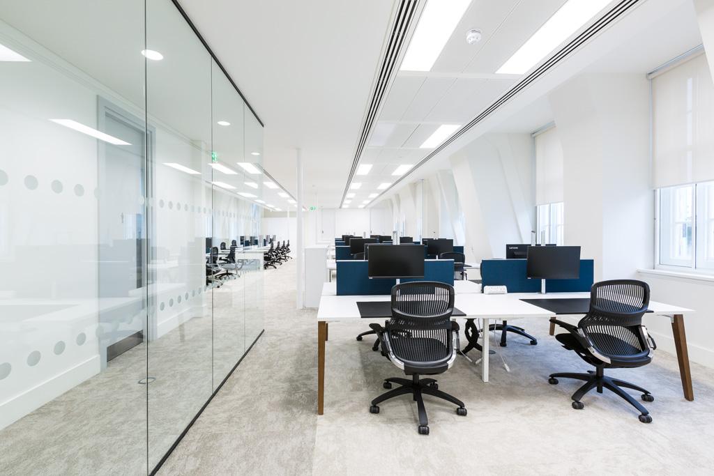 Interior office photography london