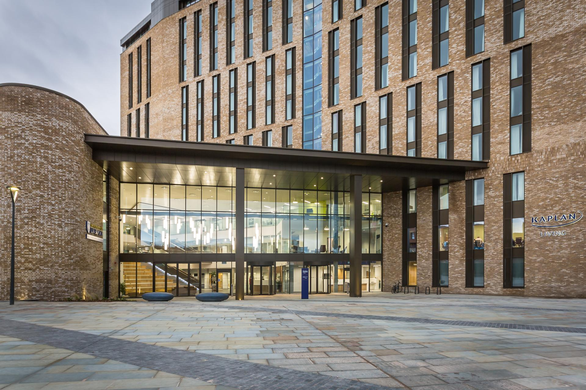 Entrance to Liverpool University - Liane Ryan Photography - Interior and Architectural Photographer in London and Essex