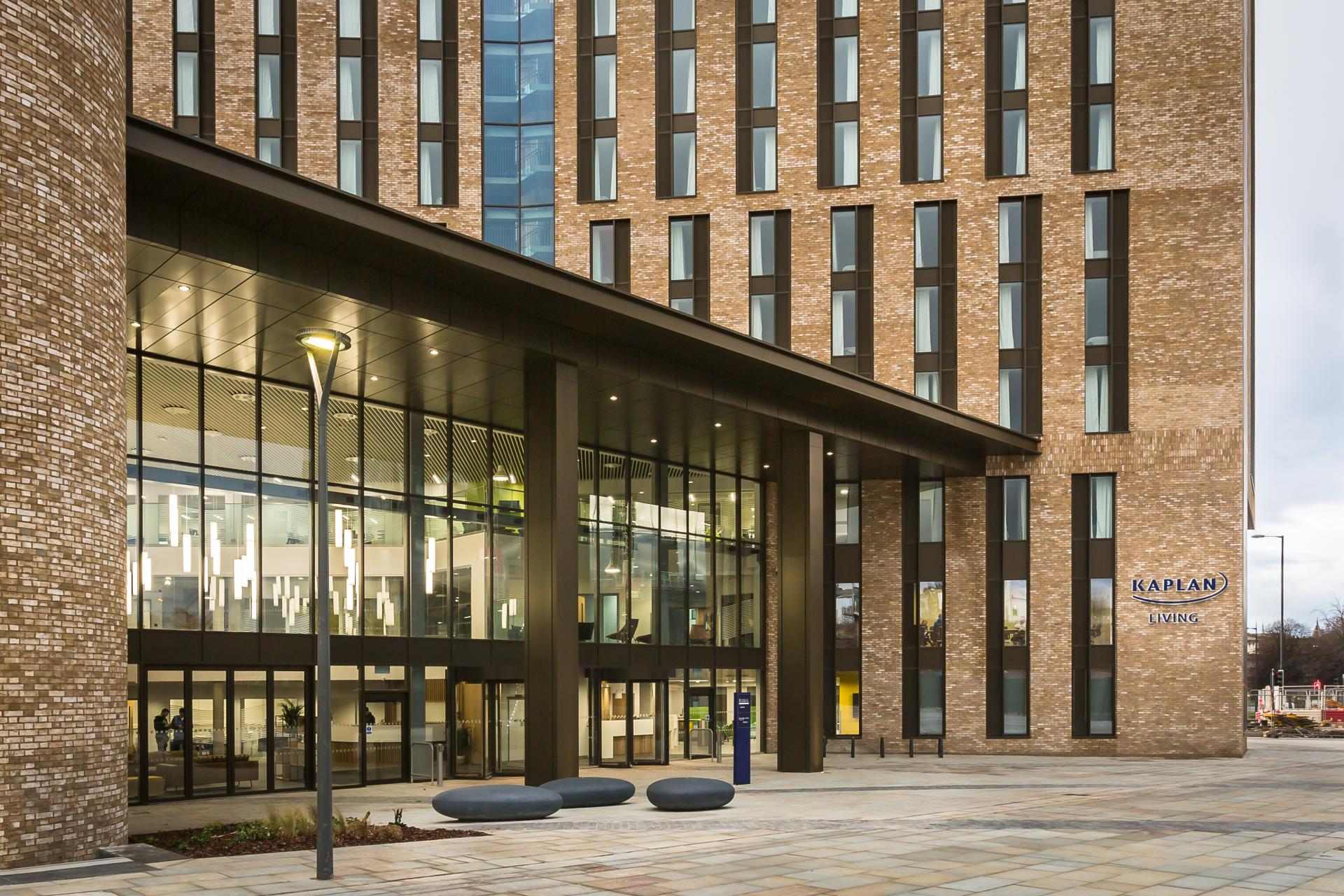 Entrance to Liverpool University -Liane Ryan Photography - Interior and Architectural Photographer in London and Essex