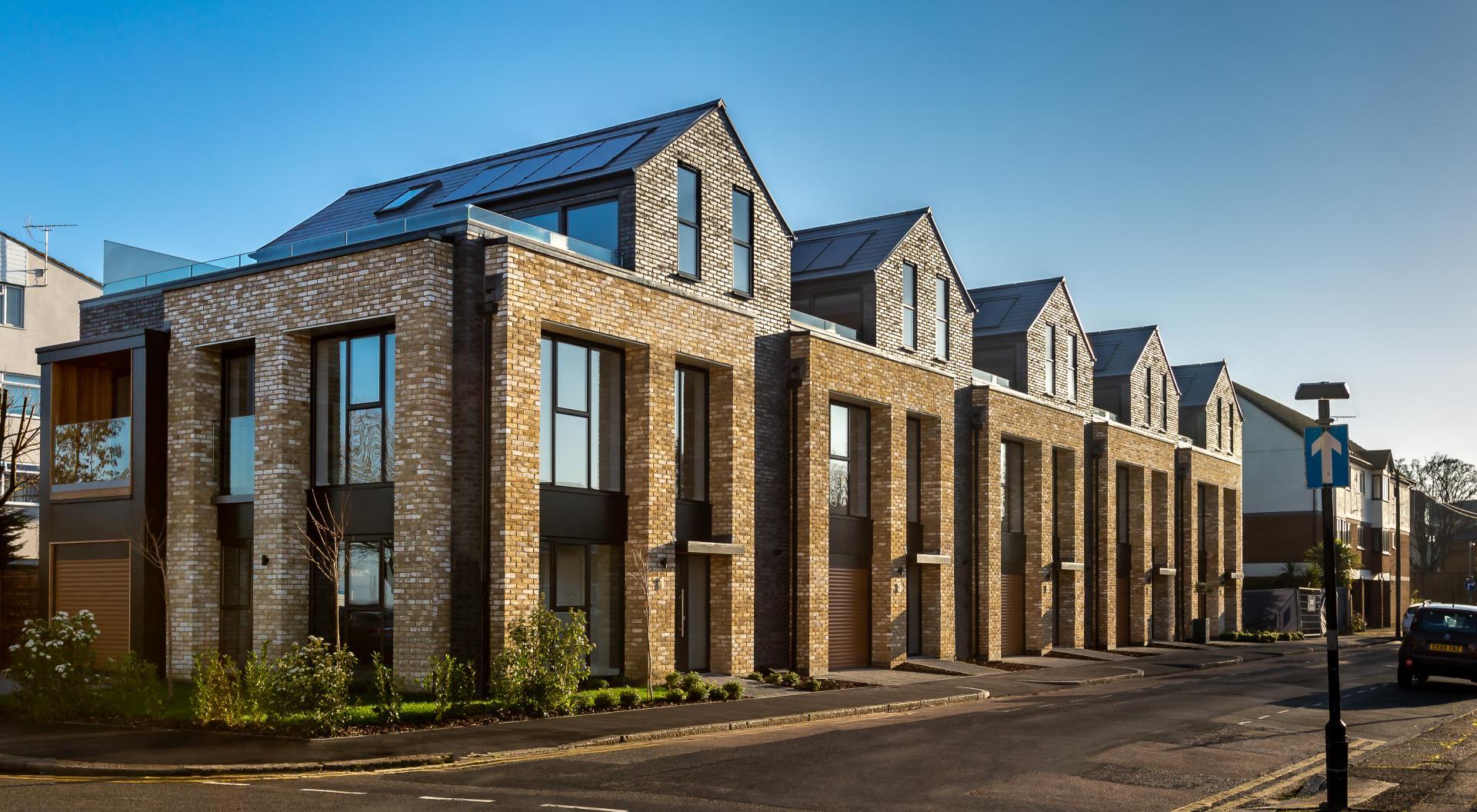 Exterior of new developement in Essex -