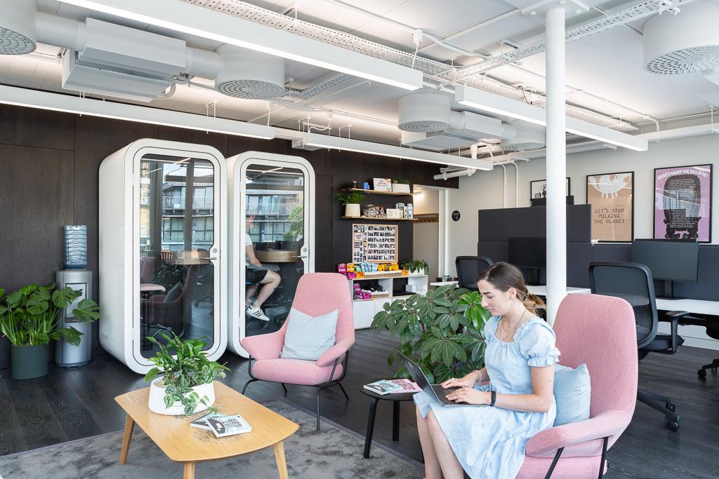 Kitt Offices, Interior photography, London-19